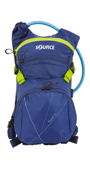 SOURCE Rapid - Mochila bicicleta - 2 L azul